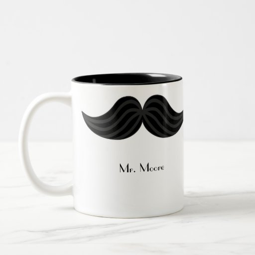 Mustache Groom's Mug