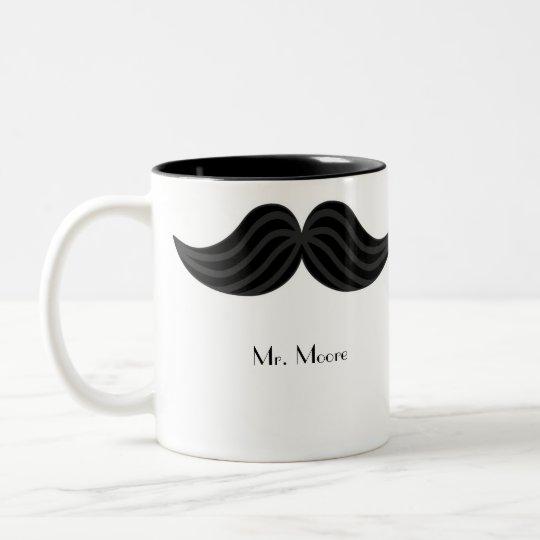 Mustache Groom's Right-handed Mug