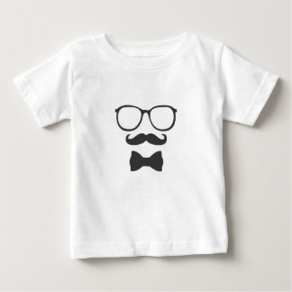 Mustache Hipster Bowtie Glasses Tees