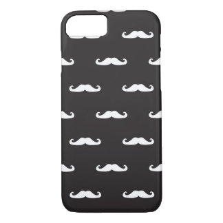 Mustache hipster pattern iPhone 8/7 case