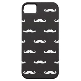 Mustache hipster pattern iPhone SE/5/5s case
