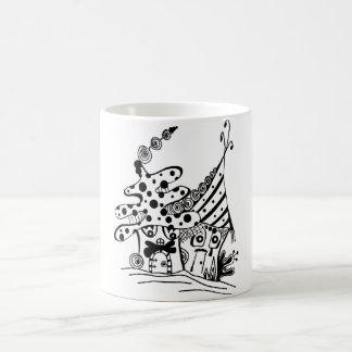 Mustache Houses Coffee Mug