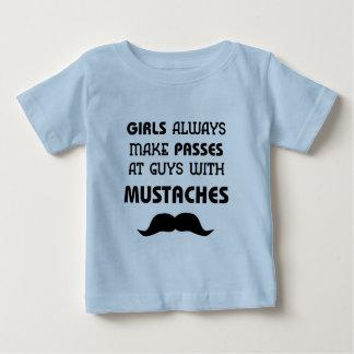 Mustache Infant T-Shirt