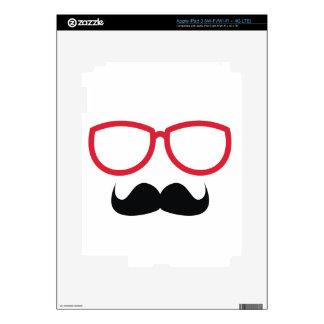 Mustache iPad 3 Skin