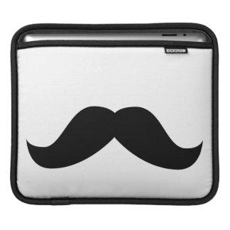 Mustache iPad Sleeves