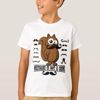 mustache is not a crime T-Shirt