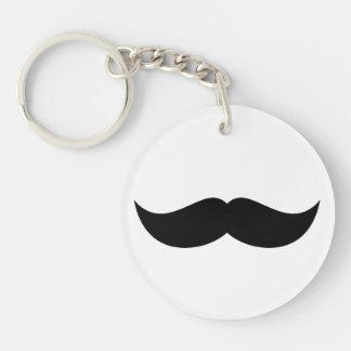 Mustache Keychain Acrylic Key Chain