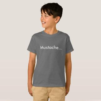 Mustache... Kids' T-Shirt