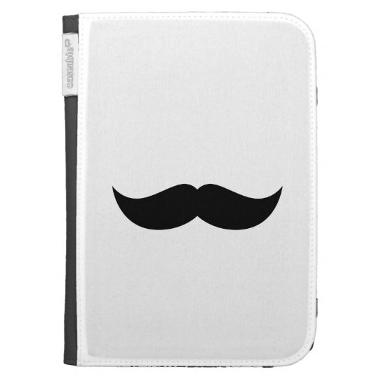 Mustache Kindle 3 Cover