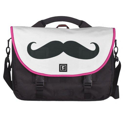 Mustache Laptop Bag
