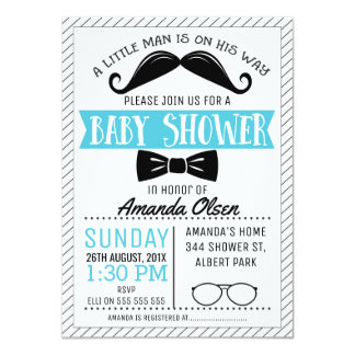 Little Gentleman Invitations Announcements Zazzle