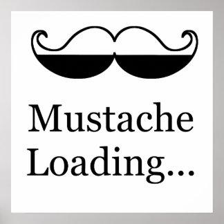 Mustache Loading Print