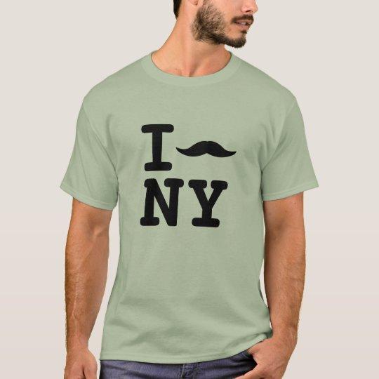 Mustache = Love T-Shirt