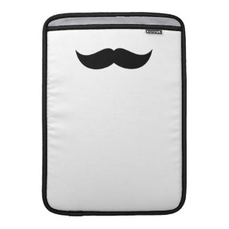"Mustache Macbook Air 13"" Sleeve"