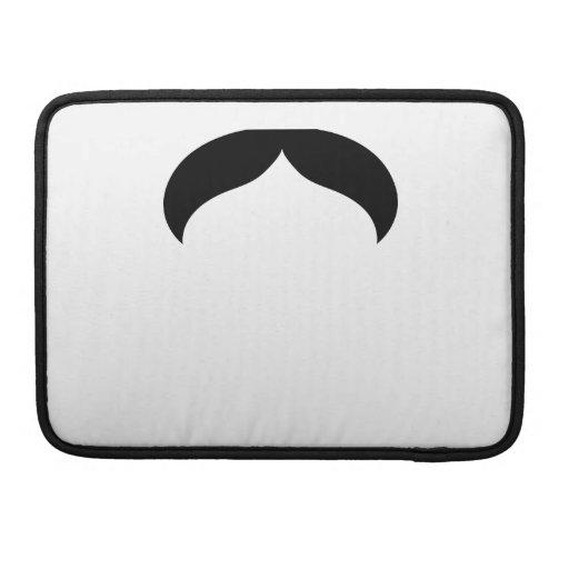 "Mustache Macbook Pro 13"" Rickshaw Flap Sleeve MacBook Pro Sleeves"