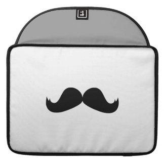 "Mustache Macbook Pro 15"" Rickshaw Flap Sleeve MacBook Pro Sleeves"