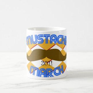 Mustache March 2011 Coffee Mug