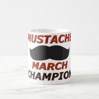 Mustache March champion Coffee Mug