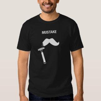 Mustache Mistake Safety Razor - Dark Tee