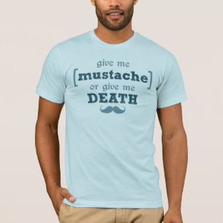Mustache Mob Death Shirt