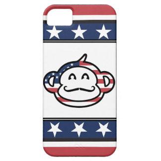 Mustache Monkey America iPhone SE/5/5s Case
