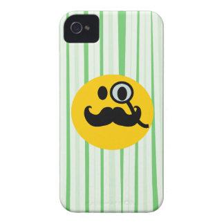 Mustache monocle Smiley Blackberry Bold Case