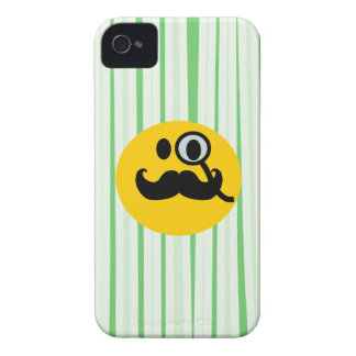 Mustache monocle Smiley iPhone 4 Cover