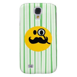 Mustache monocle Smiley Galaxy S4 Covers