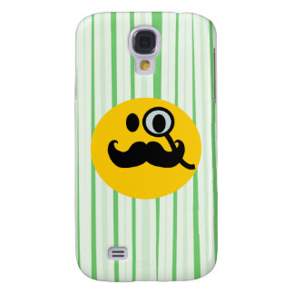 Mustache monocle Smiley Samsung Galaxy S4 Covers