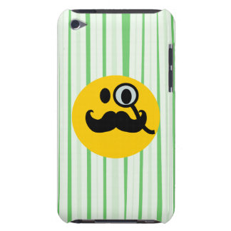 Mustache monocle Smiley iPod Touch Covers