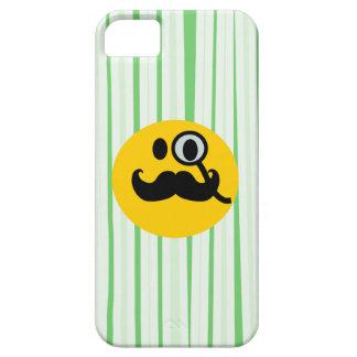Mustache monocle Smiley iPhone 5 Case