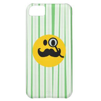 Mustache monocle Smiley iPhone 5C Case