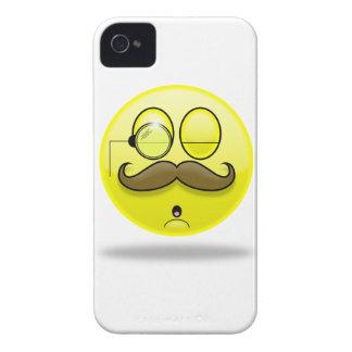 Mustache & Monocle Smilie Blackberry Case