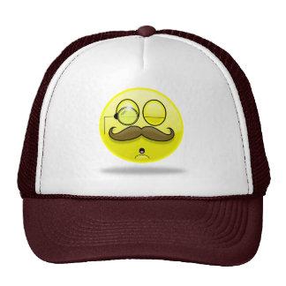 Mustache & Monocle Smilie Hat