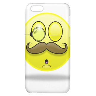 Mustache & Monocle Smilie iPhone Case iPhone 5C Cover