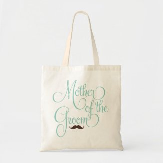 Mustache -Mother of the Groom Canvas Bags