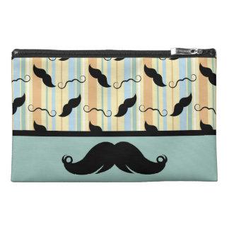 Mustache Moustache Retro Design Travel Accessory Bags