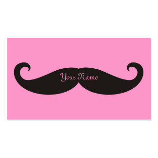 Mustache / Moustache / Schnurrbart Double-Sided Standard Business Cards (Pack Of 100)