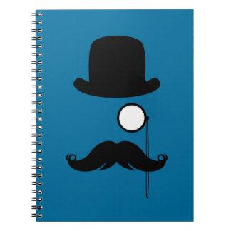 Mustache Moustache Stache Man Journal