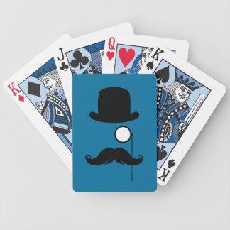 Mustache Moustache Stache Man Poker Deck