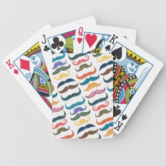 Mustache Moustache Stache Pattern Card Decks