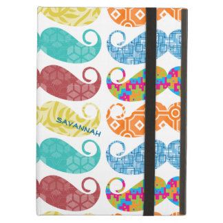 Mustache  Mr. Hipster Vintage Retro Case For iPad Air