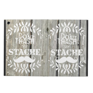 Mustache  Mr. Hipster Vintage Retro Cover For iPad Air