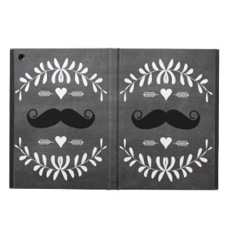 Mustache  Mr. Hipster Vintage Retro iPad Air Cover
