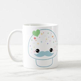 Mustache Mushroom Coffee Mug