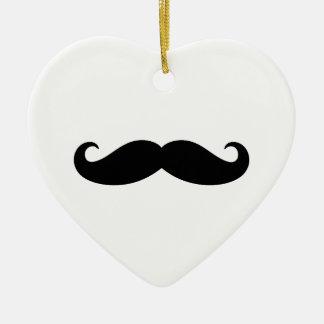 Mustache Mustache, Moustache design Ceramic Ornament