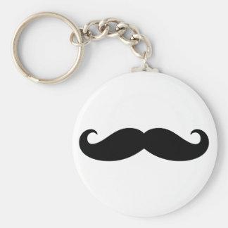 Mustache Mustache, Moustache design Keychains