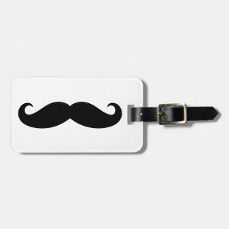 Mustache Mustache, Moustache design Tags For Luggage