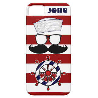 Mustache Nautical iPhone 5 Case