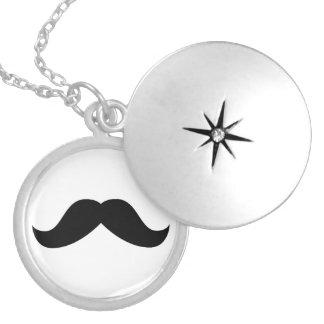 Mustache Necklace